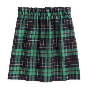 J Crew Tartan Paper Bag Skirt Plaid Size 0